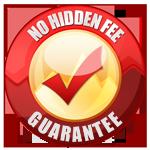 No Hidden Fees Guarantee