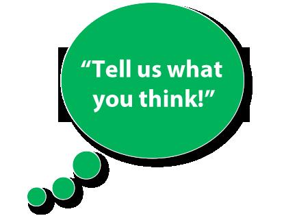 告诉我们您的想法 - 提交您的反馈意见