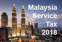 Malaysia Service Tax 2018
