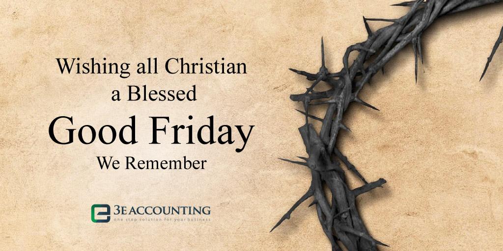 Holiday Greeting - Good Friday