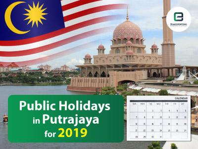 Public Holidays in Putrajaya for 2019