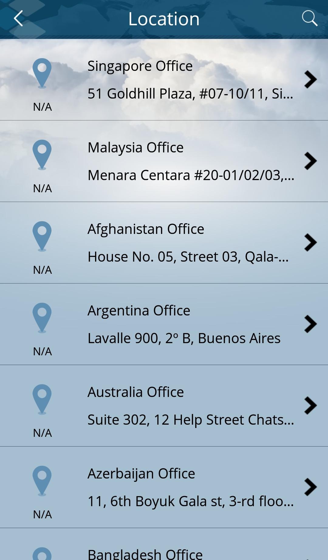搜索任何一个3E会计公司的办公室