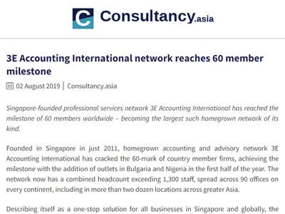 3E Network Accounting Antarabangsa mencapai 60 ahli