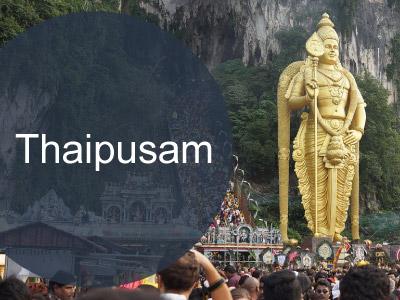 Malaysia Thaipusam Day Holiday