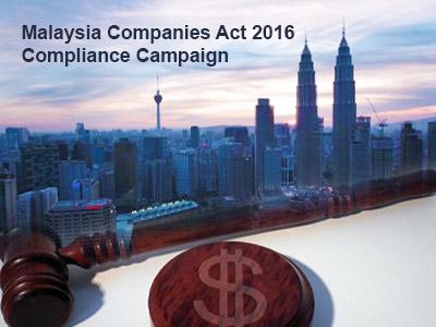 Malaysia Companies Act 2016 Compliance Campaign