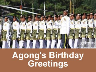 Agong's Birthday