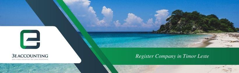 Register Company in Timor-Leste