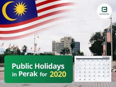 Perak Public Holidays 2020