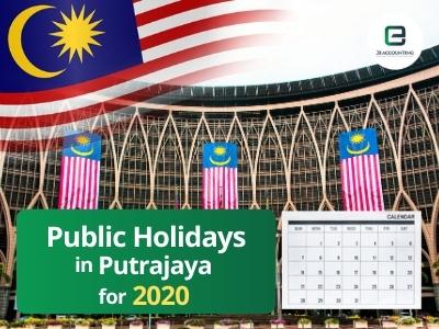 Putrajaya Public Holidays 2020