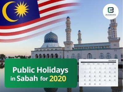 Sabah Public Holidays 2020