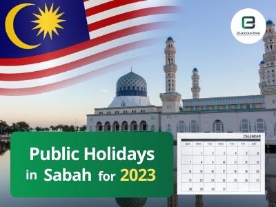 Sabah Public Holidays 2023