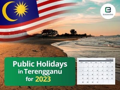 Terengganu Public Holidays 2023