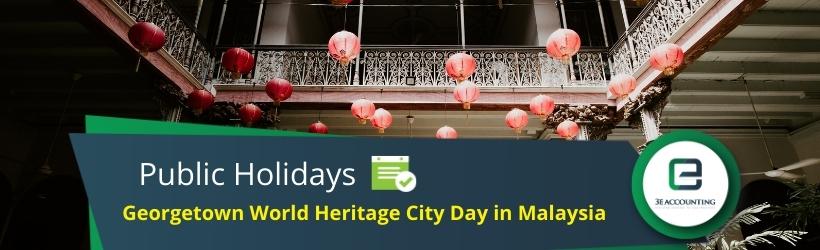 Georgetown World Heritage City Day