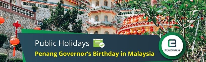 Penang Governor's Birthday