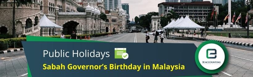 Sabah Governor's Birthday