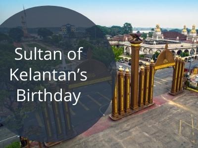Sultan of Kelantan's Birthday